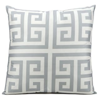 Mina Victory by Nourison Indoor/ Outdoor Grey 20 x 20-inch Throw Pillow