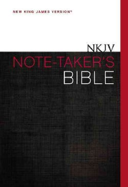 Holy Bible: New King James Version, Note-Taker's (Hardcover)