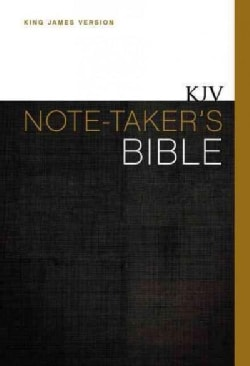 Holy Bible: King James Version, Thinline Edition, Note-Taker's (Hardcover)