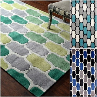 nuLOOM Hand-tufted Green Rug (7' 6 x 9' 6)
