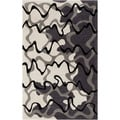 Hand-tufted Dafter Abstract Grey Area Rug (8' x 11')