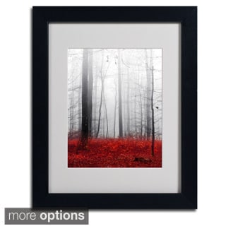 Philippe Sainte-Laudy 'Little Red Carpet' Framed Matted Art