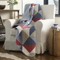 Eddie Bauer Reversible Cotton Quilted Throw