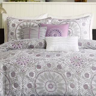 Madison Park Seville Cotton 6-piece Duvet Cover Set