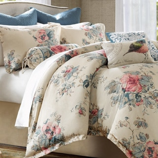Harbor House Emmaleen 4-piece Comforter Set with Euro Sham Sold Separate