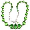 Peridot Green Crystal 4-piece Wedding Jewelry Set