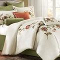 Harbor House Madeline 4-piece Cotton Comforter Set with Optional Euro Sham Sold Separate