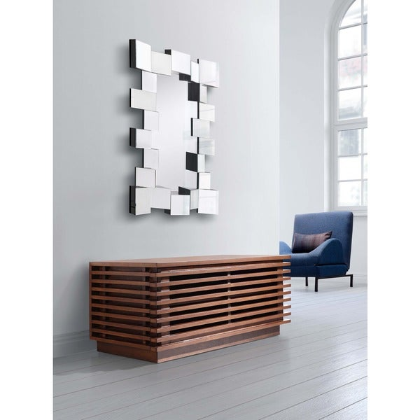 Centurian Multi-square Border Geometric Mirror