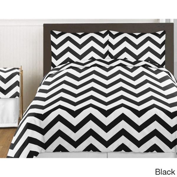 Sweet Jojo Designs Chevron Zigzag 3-piece Childrens Bedding Set