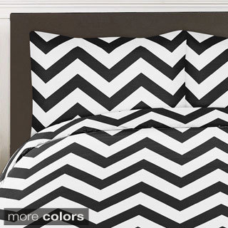 Sweet Jojo Designs Chevron Zigzag 3-piece Childrens Bedding Set