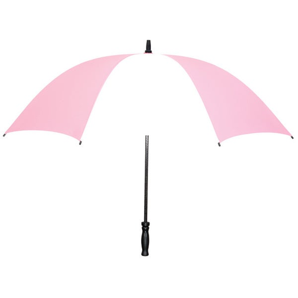 Leighton Strawberry Pink Lightweight Fiberglass-frame Umbrella