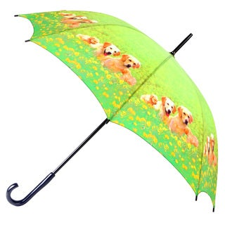 Leighton Puppy Print 48-inch Umbrella