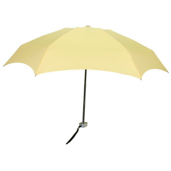 Leighton 'Genie II' Light Yellow Manual Compact Umbrella