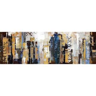 'NYC Skyline' Horizontal Canvas
