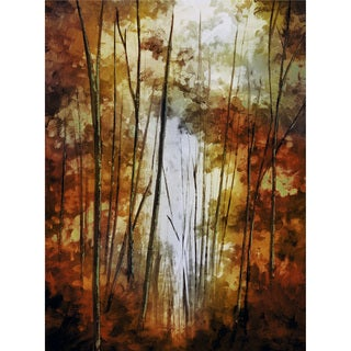 'In the Woods' Canvas Art