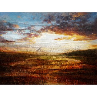 'The Field' Canvas Art