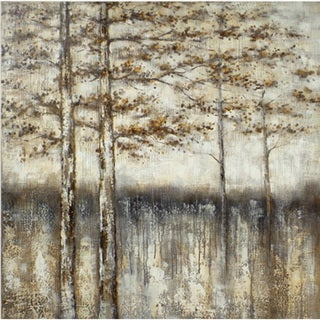 'Winter Blur' Canvas Art
