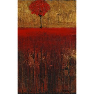 'Lost in Red' Canvas Wall Art