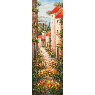 'Little Italy' Vertical Canvas Art