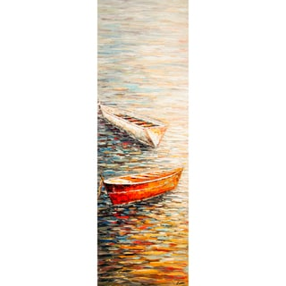 'Float Away' Vertical Canvas Art