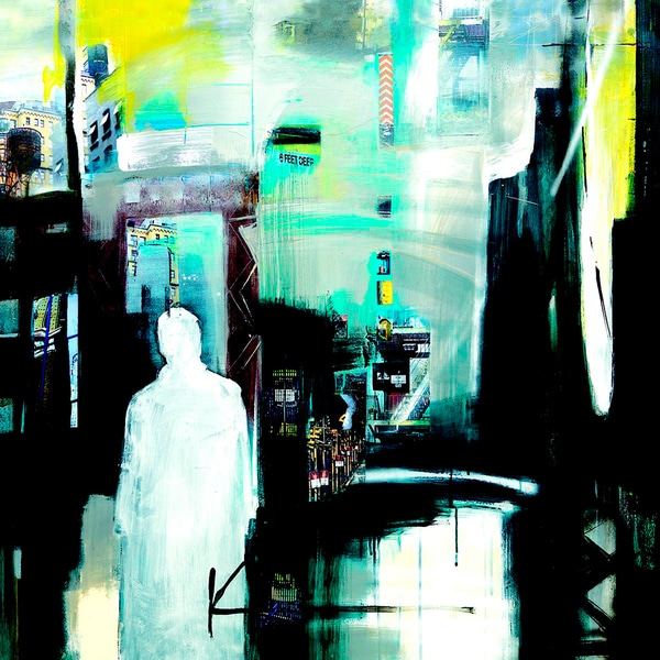 'Ghosts of the City' Canvas Art