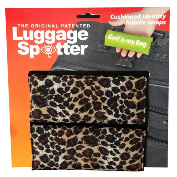 Leopard Print Original Patented Luggage Spotter