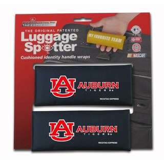 The Original Patented NCAA Auburn Tigers Luggage Spotter (Set of 2)
