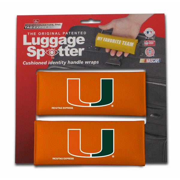 NCAA Miami Hurricanes Original Patented Luggage Spotter