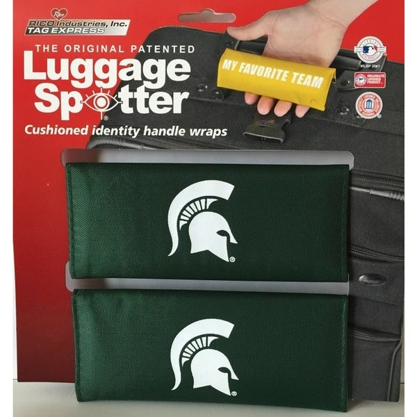 NCAA Michigan State Spartans Original Patented Luggage Spotter 12715521