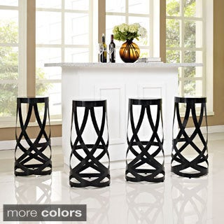 Ribbon Bar Stools (Set of 4)