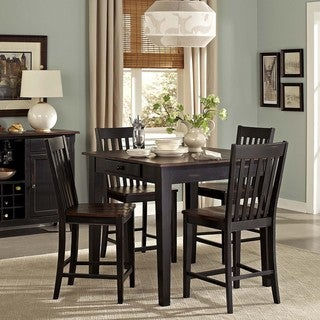 Zachary 5-piece Counter Height Dining Set