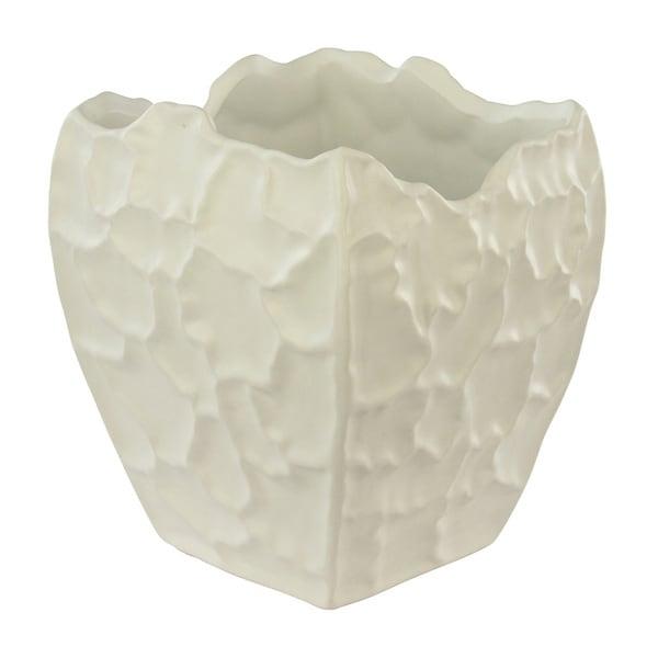 White Art Deco Vase