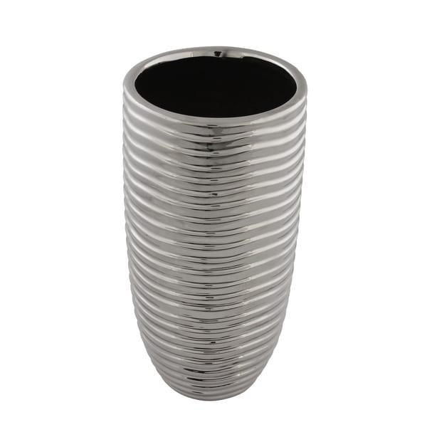 Titanium Wave Vase