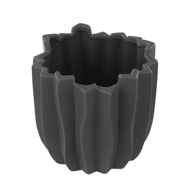 Dark Grey Carolina Medium Vase