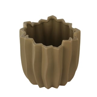 Mocha Carolina Medium Vase