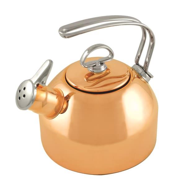 Chantal 1.8-quart Copper Classic Tea Kettle