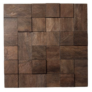 Selections by Chaumont Palma Cubic Decorative Wall Art