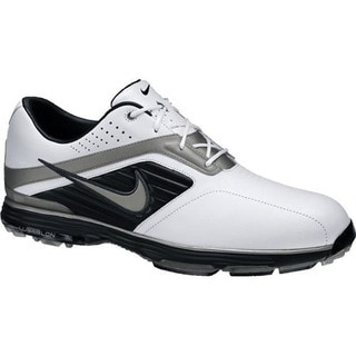 Nike Men's Lunar Prevail White/ Black/ Grey Golf Shoes