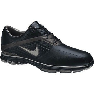 Nike Men's Lunar Prevail Black/ Grey Golf Shoes