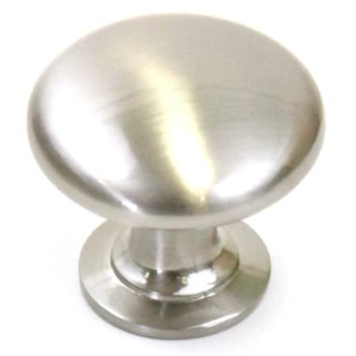 1-1/4 inch Round Circular Design Stainless Steel Finish Cabinet and Drawer Knobs Handles (Case of 25)