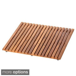 Le Spa Hand-sanded Teak Floor Mat