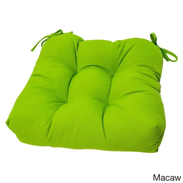 Sunbrella 20 Inch Tufted Outdoor Chair Cushion 16145561