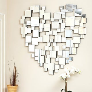 ABBYSON LIVING Heart-shaped Wall Mirror
