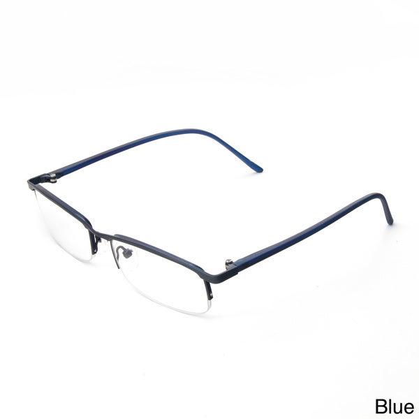Half Frame Metal Reading Glasses : Hot Optix Ladies Metal Half Frame Reading Glasses ...