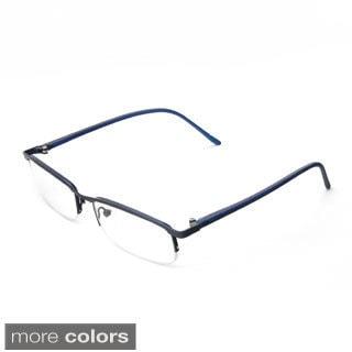 Hot Optix Ladies Metal Half Frame Reading Glasses
