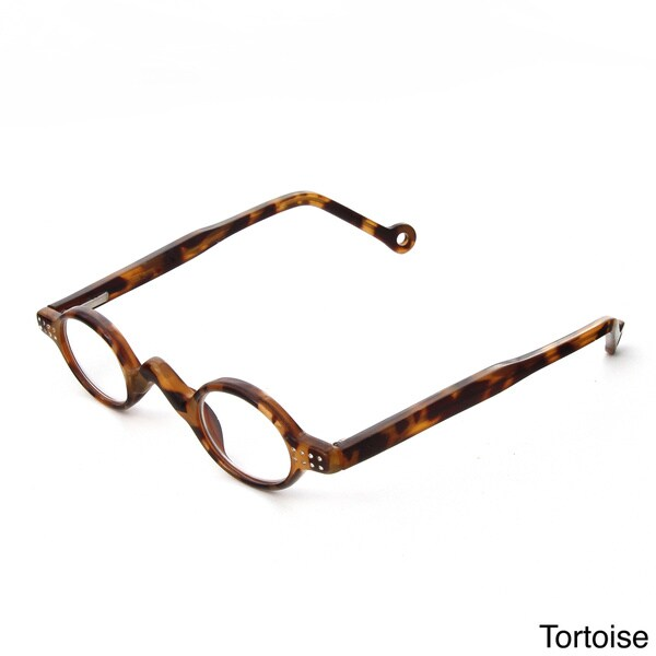 Hot Optix Ladies Small Round Reading Glasses with Rhinestones