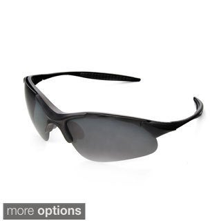 Hot Optix Mens Polarized Sport Wrap Sunglasses