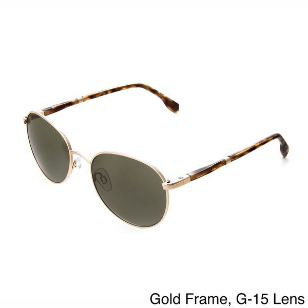 Hot Optix Unisex Retro Round Metal Sunglasses