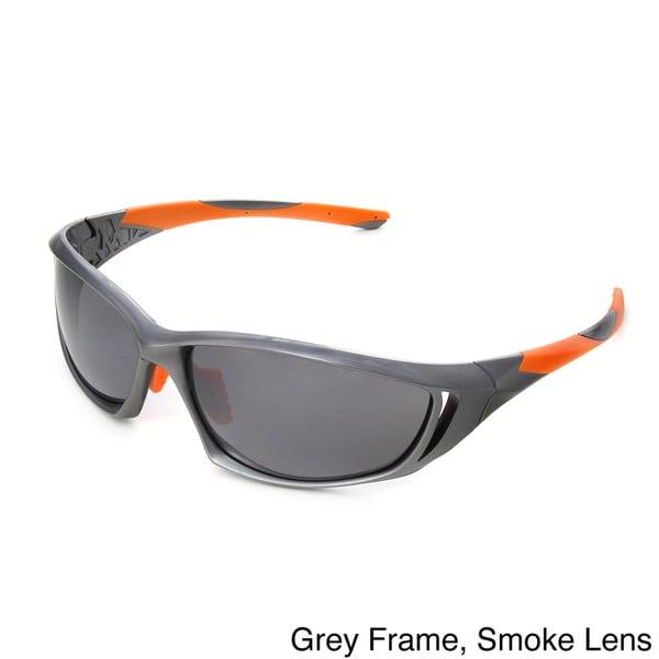 Hot Optix Mens Vented Sport Wrap Sunglasses