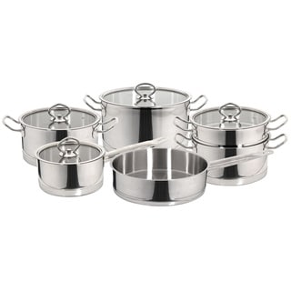 Vitreux Stainless Steel 10-piece Cookware Set